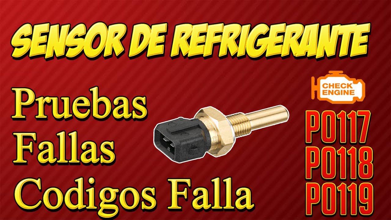 Pruebas Y Fallas Del Sensor De Refrigerante Ect Youtube