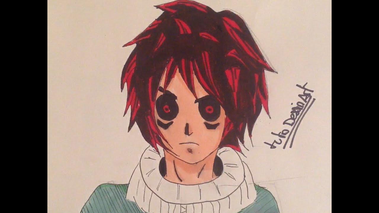Powerdraw comment dessiner et colorier un personnage manga youtube - Dessiner un manga ...