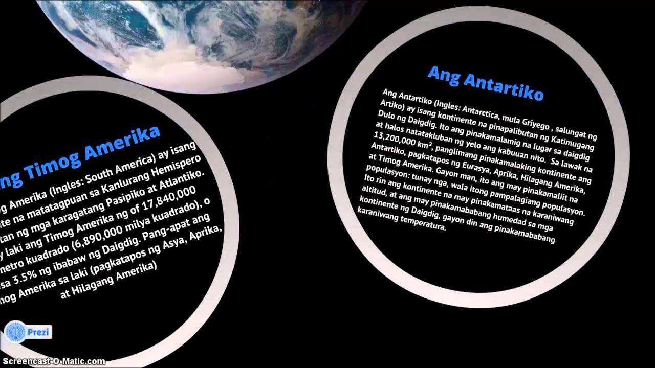Ang 7 Kontinente ng Daigdig | FunnyDog TV