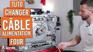 Comment changer le câble d'alimentation d'un four
