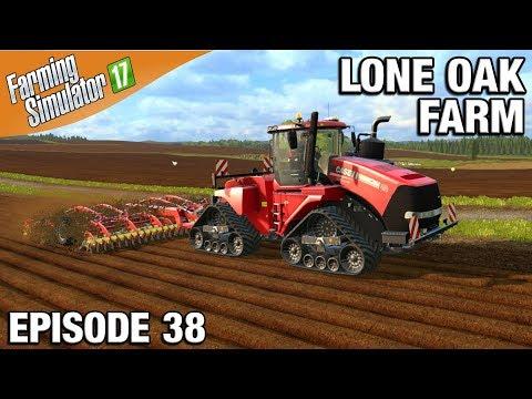 Farming Simulator 17 Timelapse - Lone Oak Farm Episode 38 QUADTRAC thumbnail