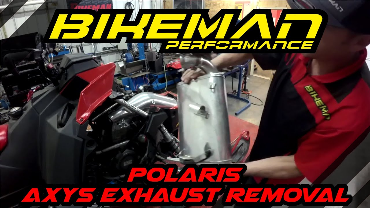 S1E8 BMP Tech Tuesday - Polaris AXYS Exhaust Removal