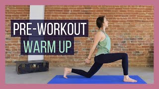 Pre-Workout Yoga Warm Up - Yoga Warm Up Sequence Before a Workout {20 min}
