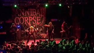 Cannibal Corpse - Red Before Black Live @ Nosturi, Helsinki 19/7/2018