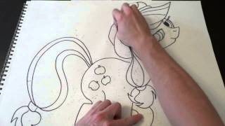 MY LITTLE PONY - How To Draw - APPLE JACK