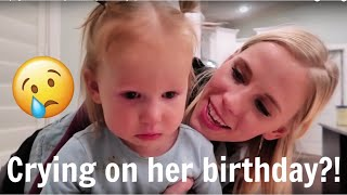 Crying on her birthday! 😢 || Cosy's Birthday Special!