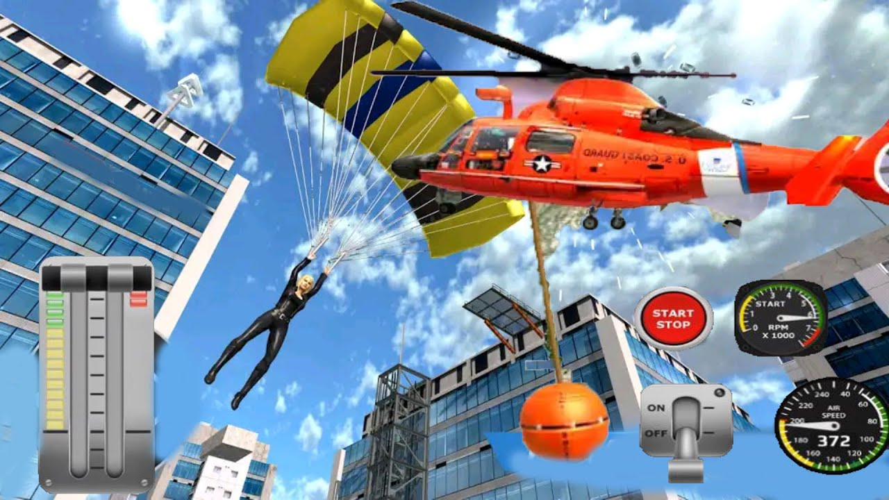 Helicopter Flight Pilot Simulator / Fly Helicopters And Planes Android Game  - YouTube