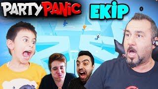 EKİPLE 4 KİŞİ PARTY PANIC! | EGEMEN KAAN İLE PARTY PANIC OYNUYORUZ!