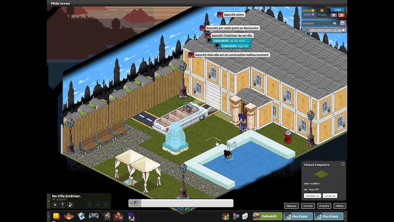 World Habbo Ma Villa Ext Rieur Youtube