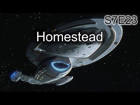 Star Trek Voyager Ruminations S7E23: Homestead