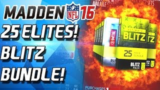 EPIC 25 PACK BLITZ BUNDLE! MEAN JOE GREEN AND DICK LANE? - Madden 16 Ultimate Team
