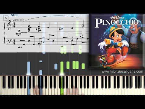 When You Wish Upon A Star - Piano Tutorial - PDF - MIDI