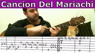 Cancion del mariachi guitar tab