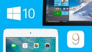 Comparativa: iOS9 vs Windows 10