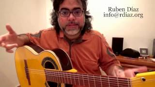 Anecdotes with Paco de Lucia + Tips 1 (Picado, hit in the right place)technique lesson by Ruben Diaz