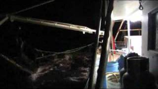 Prawn Trawler Boats Part 5 - Winching Up & Spilling the Gear