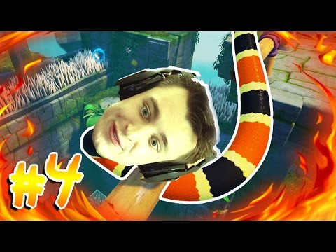 THISSSS FIRE BURNS! (Snake Pass Part 4)