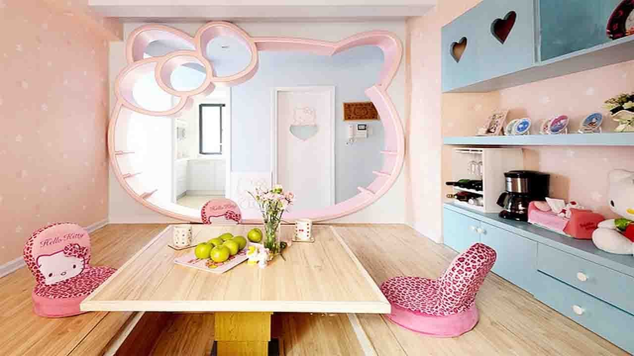 Girls Bedrooms Ideas Kitty Designs