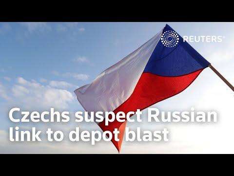 Czechs suspect Russian link to depot blast