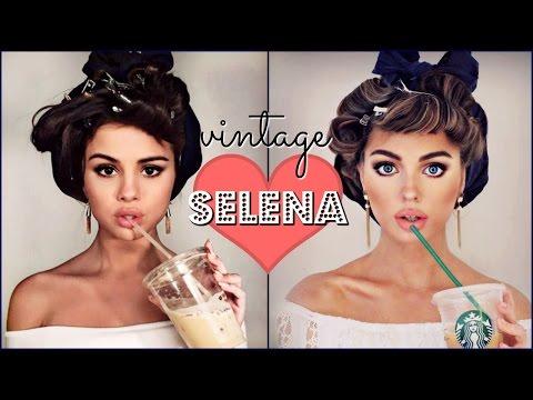 Selena Gomez Makeup Tutorial Bouncy Curls