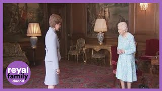 The Queen Meets First Minister Nicola Sturgeon in Edinburgh