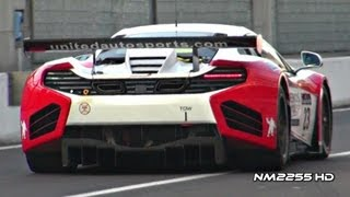 McLaren MP4-12C GT3 2012 Videos