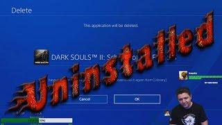 YukasLegion Uninstalls Dark Souls 2 Again  | Salty Souls 2 (2018 Edition)