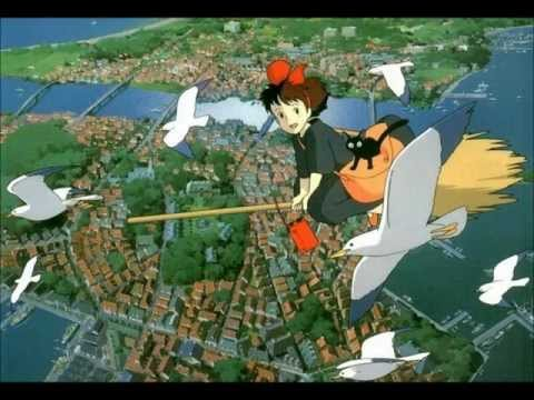 Kiki's Delivery Service - Flying Express Delivery Service Music Box