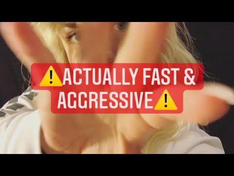 ⚡️ASMR Fast U0026 Aggressive Camera Tapping + Invisible Triggers 👻 // Lofi Tapping U0026 Scratching