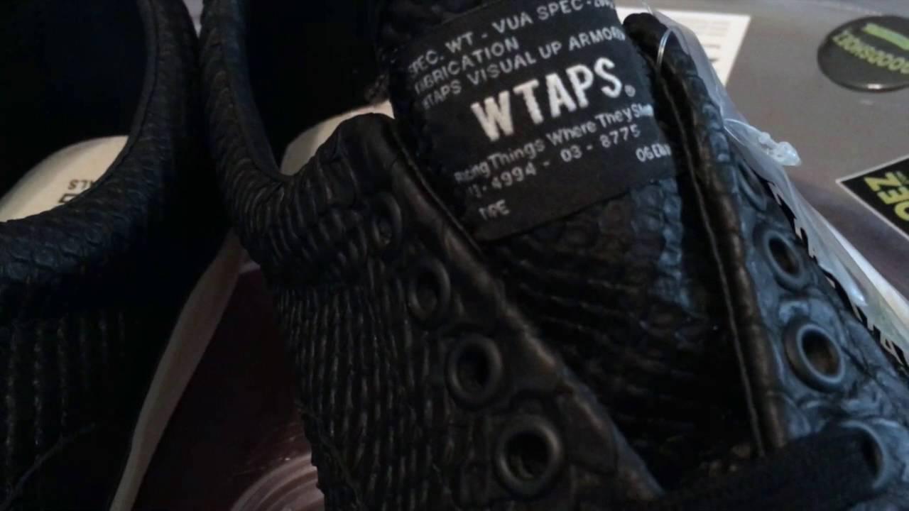 a5834e2241984b Vans Vault x wtaps OG ERA LX (wtaps) - Anaconda   Black - 9.2.2016 - YouTube