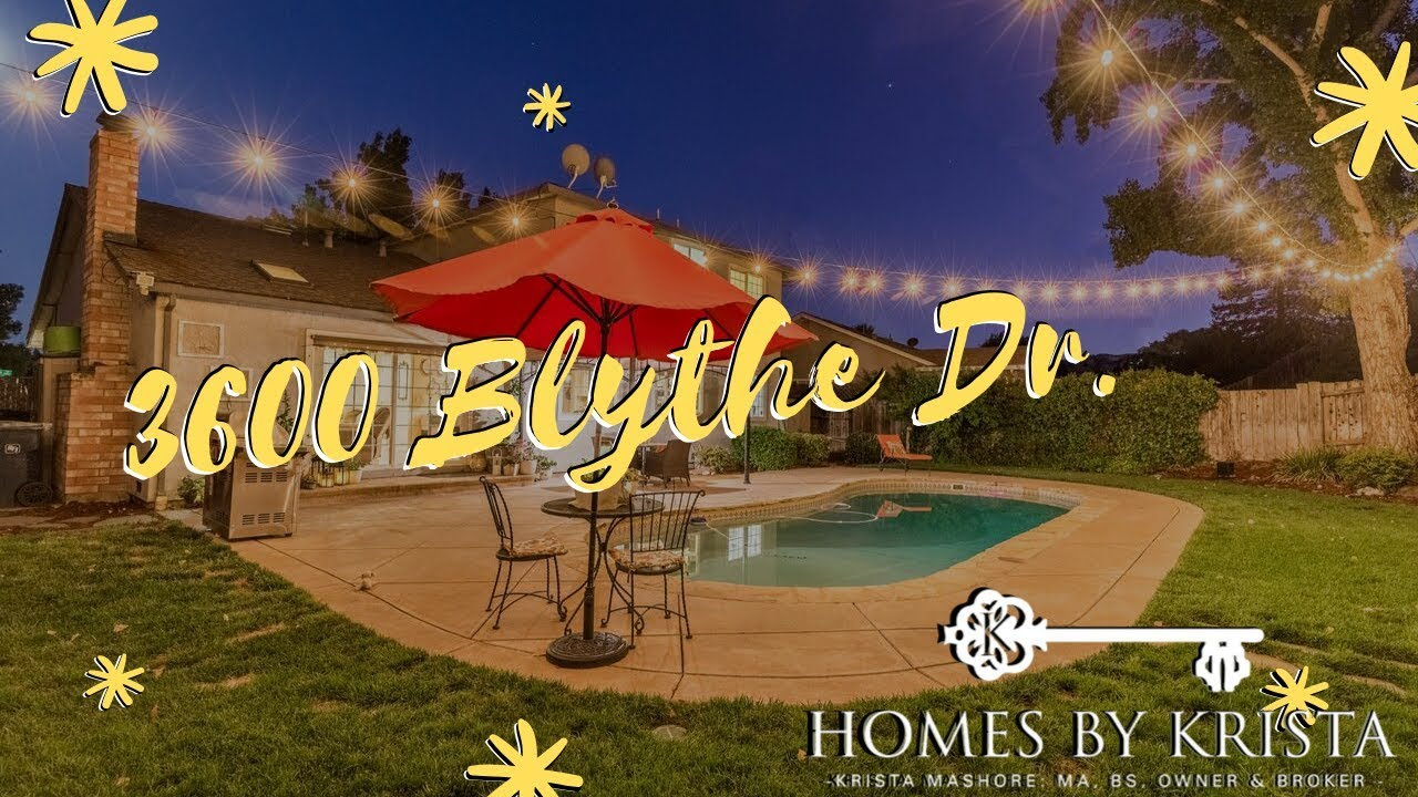 3600 Blythe Dr. Antioch, CA - Two-Story Home With Pool!