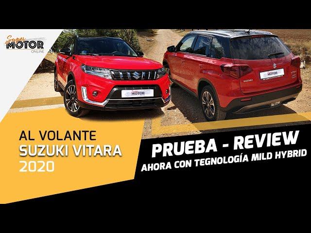 Al volante del Suzuki Vitara Hybrid 2020 / Opiniones del Vitara / SuperMotor.Online / T5 - E27