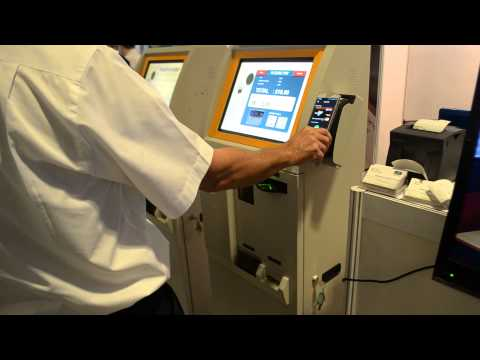 Self Service Payment by virtual credit card by EZOKiosk
