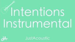 Download Lagu Intentions - Justin Bieber ft Quavo Acoustic Instrumental MP3