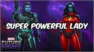 How to Get Tier 2 Minn-Erva! (Build & Gameplay) Captain Marvel Update - Marvel Future Fight