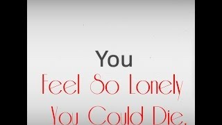 David Bowie - You Feel So Lonely You Could Die