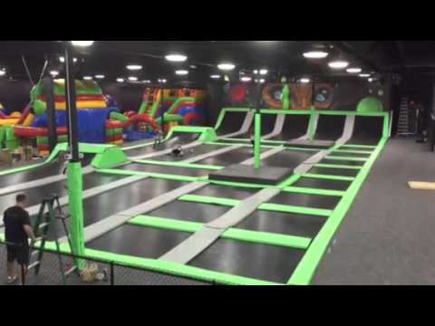 Test Jumpers at Velocity Air Sports - Charleston, SC - YouTube