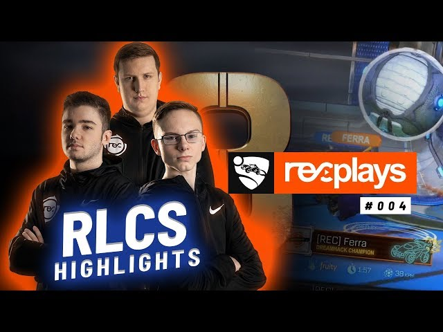 RECPlays 4 - Rocket League Championship Series
