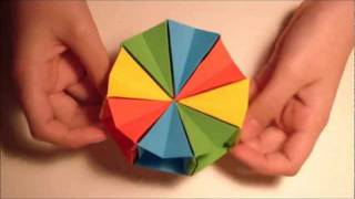 How To Make An Origami Magic Circle