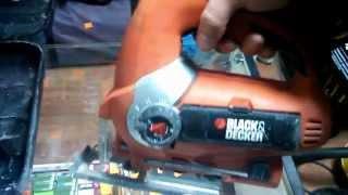 Электролобзик Black & Decker KS900E. Обзор инструмента