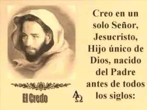Credo de la iglesia Catolica