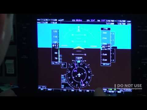NDB approach in FNPT II trainer - Baltic Aviation Academy