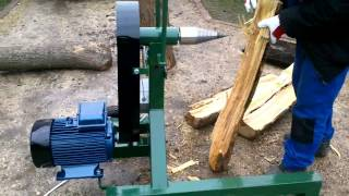 Repeat youtube video 3 fázisú kugli és méterfa hasító gép