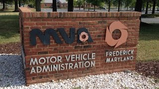 Maryland MVA Driving Test Route (Frederick - Route 2 of 3)