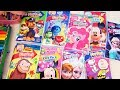 Speed Coloring Play Packets Frozen, MLP, Curious George, Minnie, Paw Patrol | SWTAD