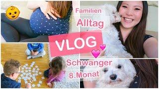 FAMILIEN ALLTAG FMA - SCHWANGER 30 SSW - BABYBAUCH UPDATE VLOG | MAMISEELEN