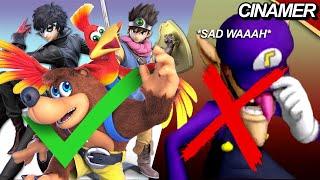 ¿Como se eligen los personajes DLC para Super Smash Bros. Ultimate?