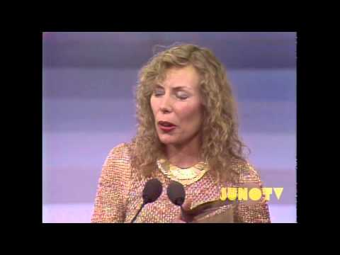 Joni Mitchell - 1981 Canadian Music Hall of Fame Induction