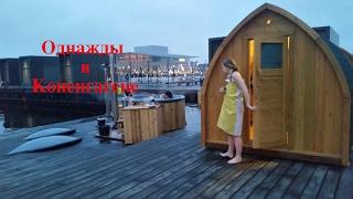 КОПЕНГАГЕН.  Площадь Офелия// Обнаженные датчане // Интерактивная конструкция quot;Волнаquot;