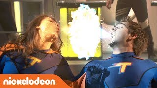 Max vs. Phoebe: The Epic Battle for the Z-Force 💥 | The Thundermans | Nick